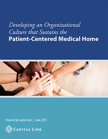 Developing an Org Culture that Sustains the PCMH cover