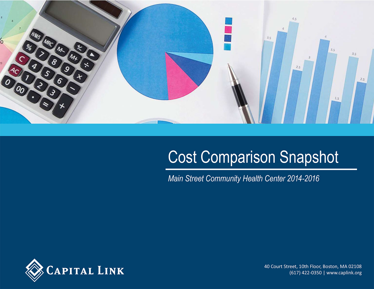 Cost Comparison Snapshot COVER