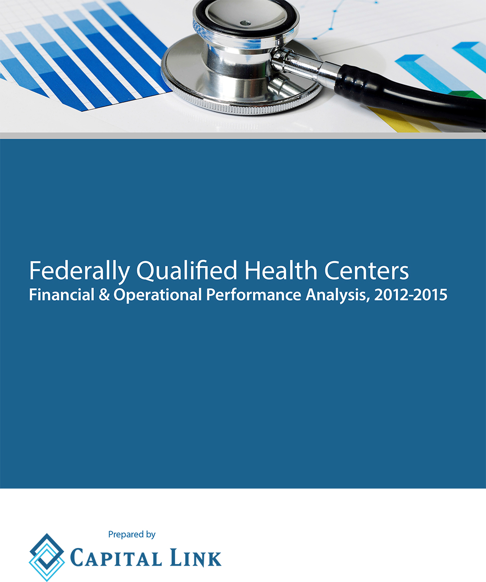 Report CA Health Centers Financial and Operational Performance Analysis Cover